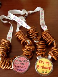 Pretzel Necklaces