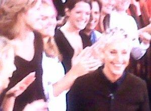 Me on the Ellen show!