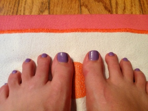 OPI Lilac nail polish