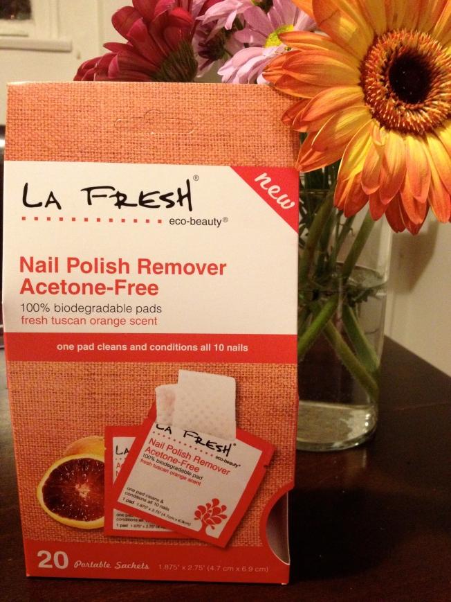 La Fresh Nail Polish Remover Pads