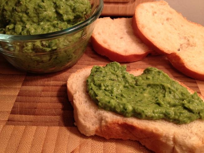 Spinach, Basil and Avocado Dip