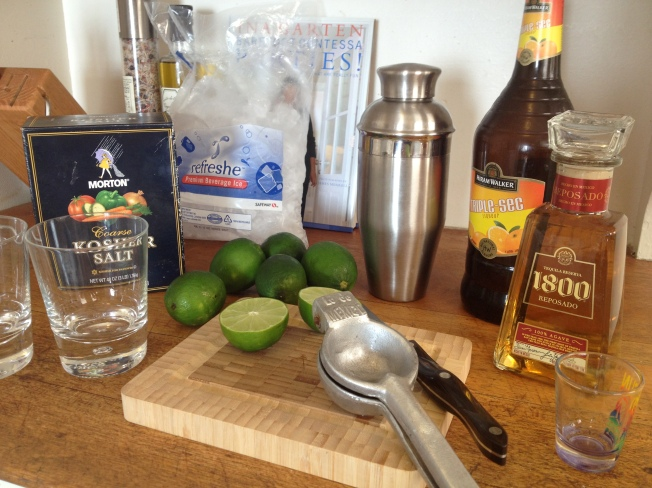 Fresh Margaritas / www.sarasfavoritethings.wordpress.com