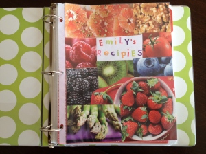 Recipe Binder / www.sarasfavoritethings.wordpress.com