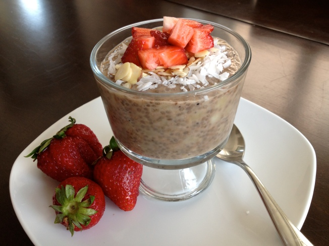 Chia Seed Breakfast Pudding / www.sarasfavoritethings.wordpress.com