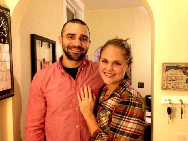 I'm engaged! / https://sarasfavoritethings.wordpress.com/2013/12/29/im-engaged/