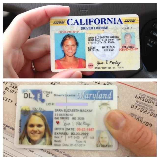 Baltimore license / www.sarasfavoritethings.wordpress.com