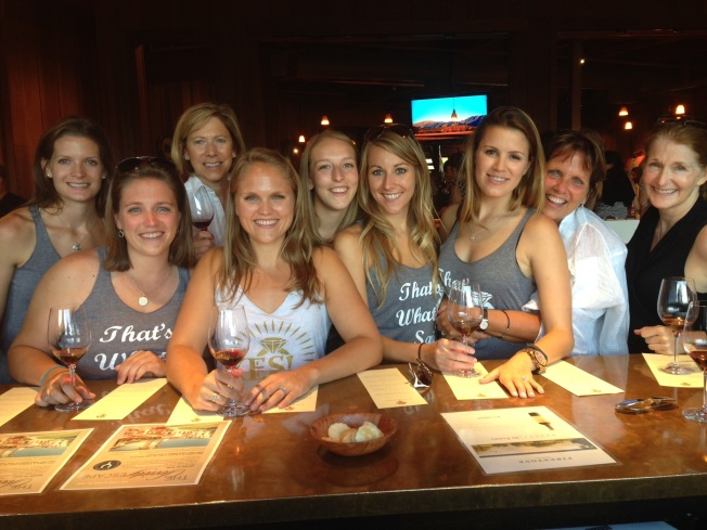 Bachelorette Party at the Winery