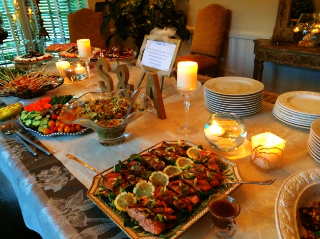 Wedding Shower - Dinner