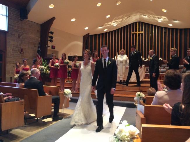 Jenny's wedding church