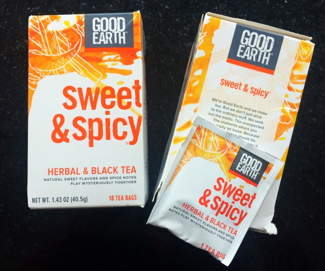 Sweet & Spicy Tea