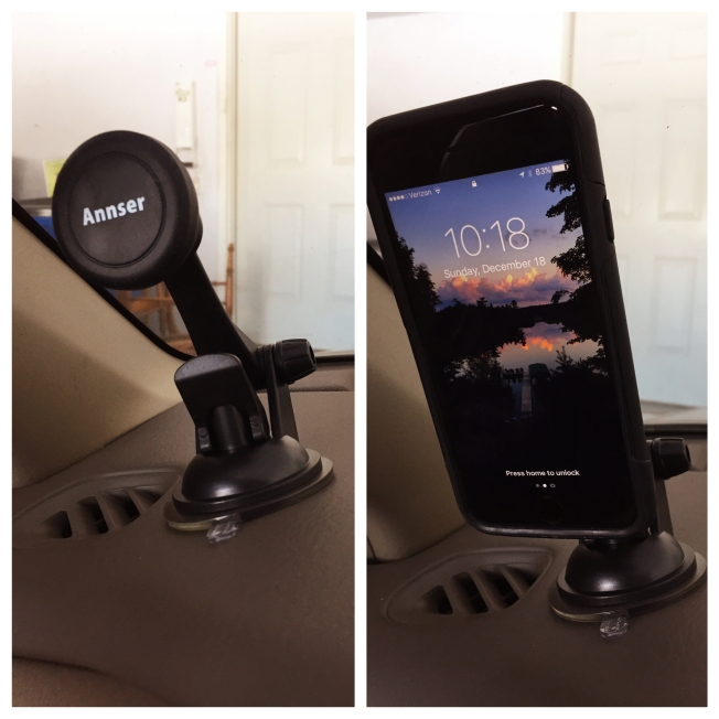 Stocking Stuffer: Magnetic Car Mount